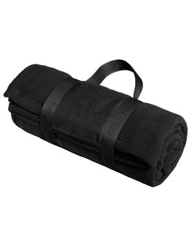 Port Authority BP20 Fleece Blanket with Carrying Strap