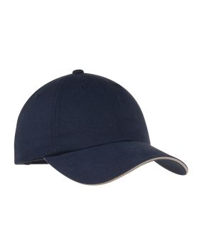 Port Authority C832 Reflective Sandwich Cap with Reflective Stripe on Ba ...