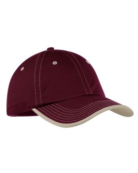 Port Authority C835 Vintage Washed Contrast Stitch Cap