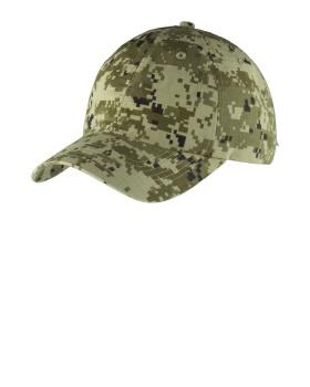 Port Authority C925 Digital Ripstop Camouflage Cap