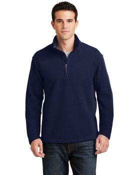 Port Authority F218 Value Fleece One Quarter Zip Pullover
