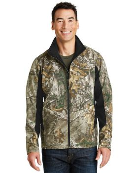 Port Authority J318C Camouflage Colorblock Soft Shell