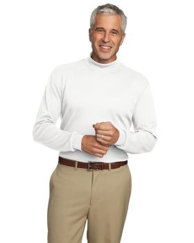 Port Authority K321 Interlock Knit Mock Turtleneck