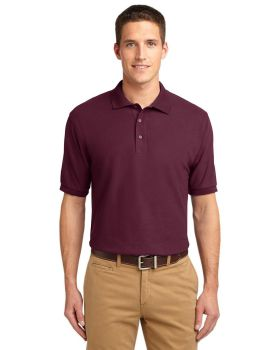 Port Authority K500ES Extended Sized Silk Touch Sport Shirt