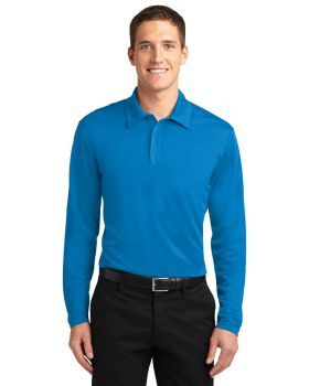 Port Authority K540LS Silk Touch Performance Long Sleeve Polo Shirt
