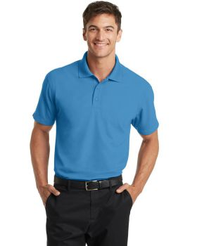Port Authority K572 Cotton Dry Zone Grid Pure Polo Shirt