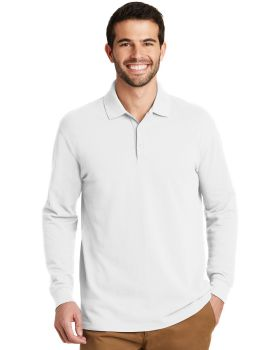 Port Authority K8000LS EZCotton Long Sleeve Polo