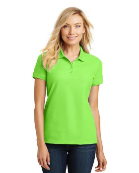 Port Authority L100 Ladies Core Classic Pique Polo Shirt