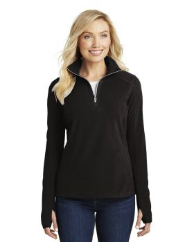 Port Authority L224 Ladies Microfleece Half Zip Pullover