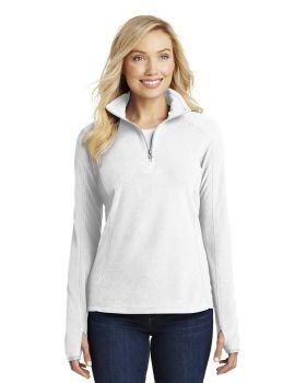 Port Authority L224 Ladies Microfleece Half Zip Pullover