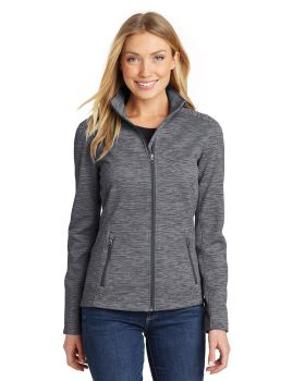 Port Authority L231 Ladies Digi Stripe Fleece Jacket