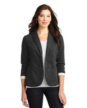 Port Authority L298 Cotton Polyester Ladies Fleece Blazer