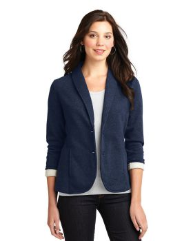 Port Authority L298 Cotton Polyester Ladies Fleece Blazer