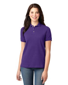 Port Authority L420 Ladies Pique Knit Sport Shirt