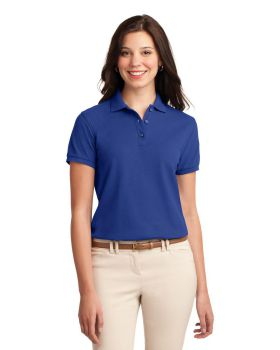 'Port Authority L500 Ladies Silk Touch Polo Shirt'