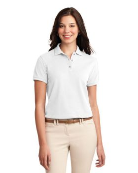 Port Authority L500 Ladies Silk Touch Polo Shirt