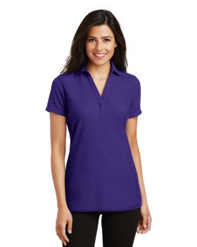 Port Authority L5001 Ladies Silk Touch Y-Neck Polo