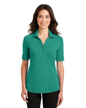 Port Authority L5200 Ladies Silk Touch Interlock Performance Polo