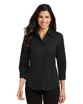 Port Authority L612 Ladies 3/4-Sleeve Easy Care Shirt
