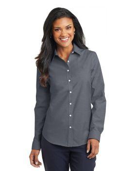 Port Authority L658 Ladies SuperPro Oxford Shirt