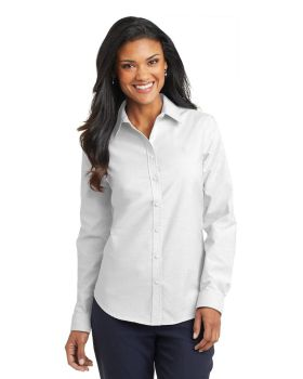 Port Authority L658 Ladies SuperPro Oxford Shirt