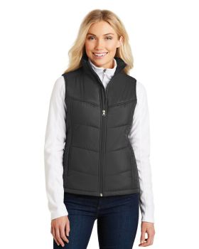 Port Authority L709 Ladies Polyester Shell Puffy Vest