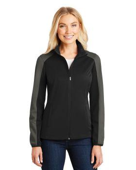Port Authority L718 Ladies Active Colorblock Soft Shell Jacket