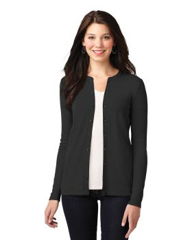 Port Authority LM1008 Ladies Concept Stretch Button Front Cardigan
