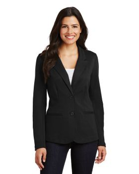 Port Authority LM2000 Ladies Welt Pockets Knit Blazer