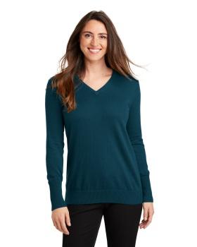 Port Authority LSW285 Ladies V Neck Sweater
