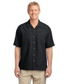 Port Authority S536 Patterned Easy Care Camp Shirt