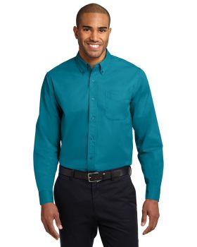 Port Authority S608ES Extended Sized Long Sleeve Easy Care Shirt