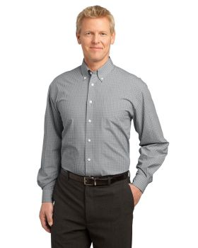 Port Authority S639 Plaid Pattern Easy Care Shirt
