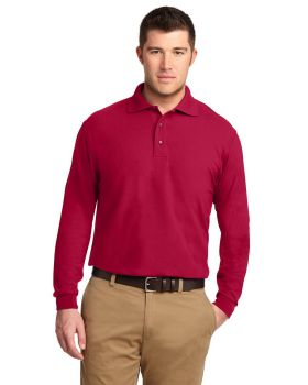 Port Authority TLK500LS Tall Silk Touch Long Sleeve Polo