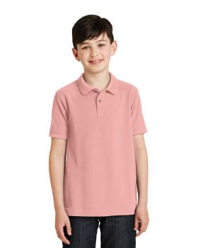 Port Authority Y500 Youth Silk Touch Polo-shirt