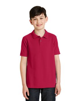 'Port Authority Y500 Youth Silk Touch Polo-shirt'