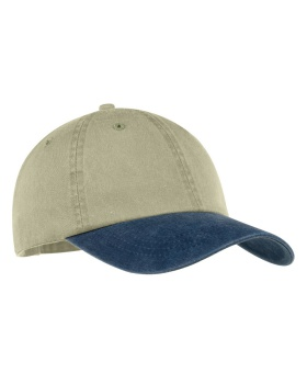 Port & Company CP83 -Two-Tone Pigment-Dyed Cap