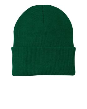 Port & Company CP90 Folding Cuff for Easy Embroidery Knit Cap