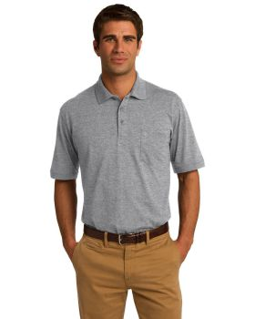 Port & Company KP55P Core Blend Jersey Knit Pocket Polo