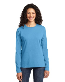 Port & Company LPC54LS Ladies Long Sleeve Core Cotton Tee