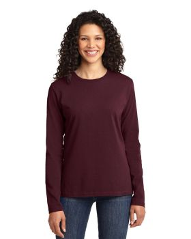 Port & Company LPC54LS Ladies Long Sleeve Core Cotton T-Shirt