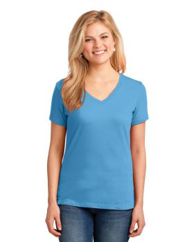 Port & Company LPC54V Ladies Core Cotton V-Neck Tee