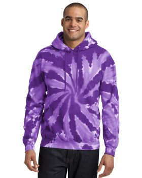 Port & Company PC146 Tie-Dye Pullover Hooded Sweatshirt