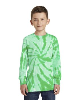 Port & Company PC147YLS Youth Tie-Dye Long Sleeve Tee