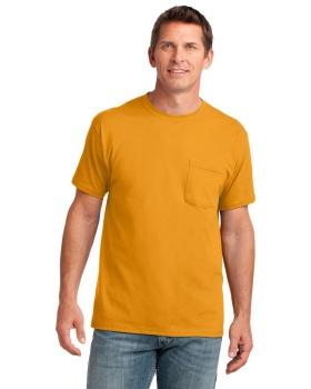 Port & Company PC54P Core Cotton Pocket T-Shirt
