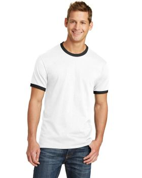 Port & Company PC54R Core Ringer Cotton T-Shirt