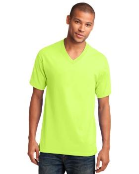 Port & Company PC54V Core V Neck Cotton T-Shirt