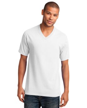 Port & Company PC54V Core V Neck Cotton T-Shirt
