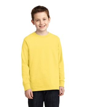 Port & Company PC54YLS Youth Long Sleeve Core Cotton T-Shirt