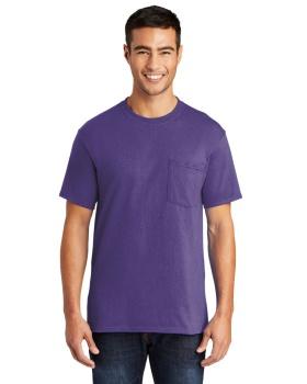 Port & Company PC55P Core Blend Pocket T-Shirt